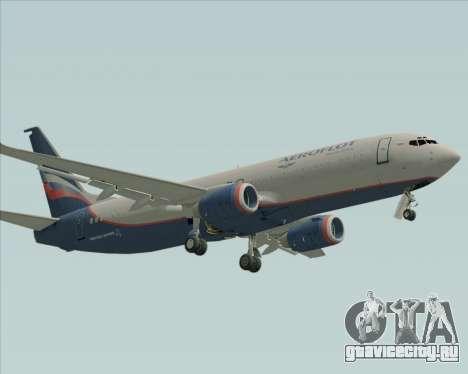 Boeing 737-8LJ Aeroflot - Russian Airlines для GTA San Andreas вид слева