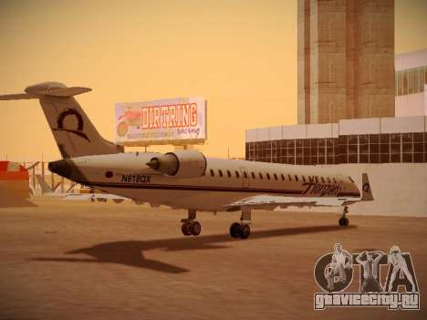 Bombardier CRJ-700 Horizon Air для GTA San Andreas вид сверху