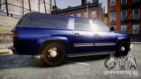 Chevrolet Suburban Undercover 2003 Grey Rims для GTA 4 вид слева