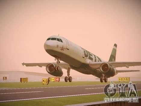 Airbus A321-232 jetBlue NYJets для GTA San Andreas