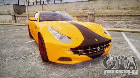 Ferrari FF 2012 Pininfarina Yellow для GTA 4