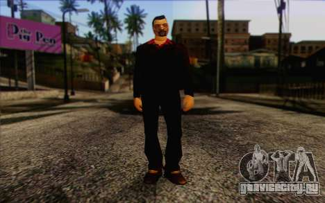 Yakuza from GTA Vice City Skin 1 для GTA San Andreas