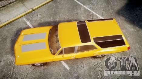 Oldsmobile Vista Cruiser 1972 Rims2 Tree3 для GTA 4 вид справа