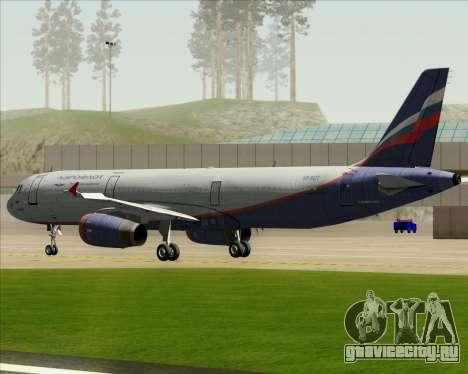 Airbus A321-200 Aeroflot - Russian Airlines для GTA San Andreas вид сбоку