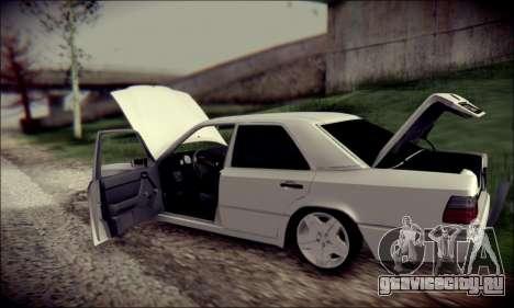 Mercedes-Benz E320 Delta Garage для GTA San Andreas вид сбоку