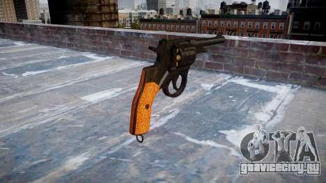 Револьвер M1895 Nagant для GTA 4 второй скриншот