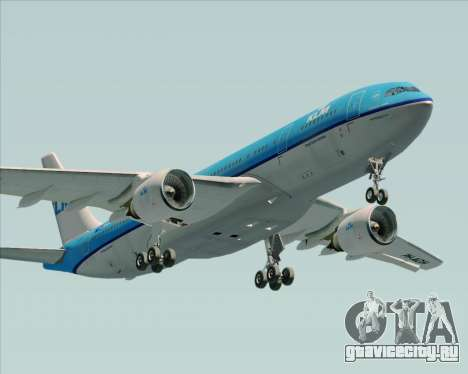 Airbus A330-200 KLM - Royal Dutch Airlines для GTA San Andreas салон
