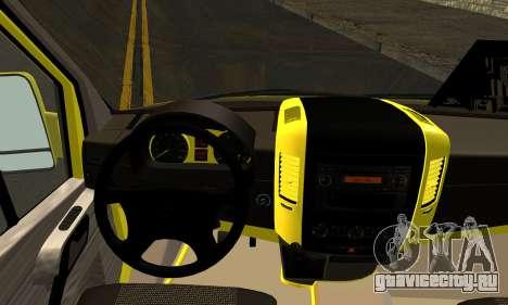 Mercedes-Benz Sprinter Eyüp Dolmuş для GTA San Andreas вид сзади слева