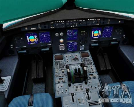 Airbus A321-200 Vietnam Airlines для GTA San Andreas салон