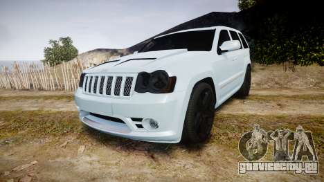 Jeep Grand Cherokee SRT8 stock для GTA 4