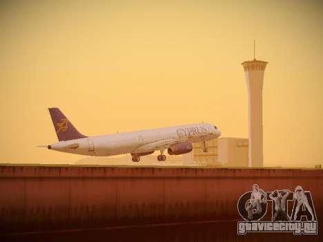 Airbus A321-232 Cyprus Airways для GTA San Andreas салон