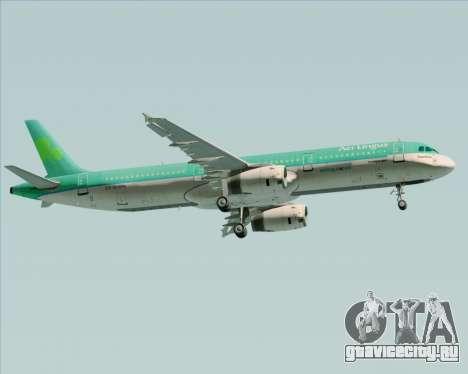 Airbus A321-200 Aer Lingus для GTA San Andreas вид сзади