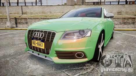 Audi S4 2010 FF Edition для GTA 4