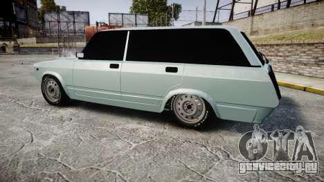 ВАЗ-2104 хулиганский азербайджанский стиль для GTA 4 вид слева