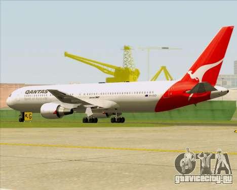 Boeing 767-300ER Qantas (Old Colors) для GTA San Andreas вид сзади