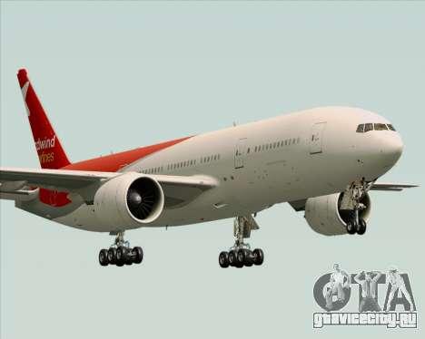 Boeing 777-21BER Nordwind Airlines для GTA San Andreas вид сверху