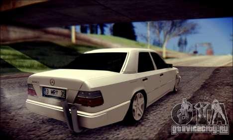 Mercedes-Benz E320 Delta Garage для GTA San Andreas вид сзади