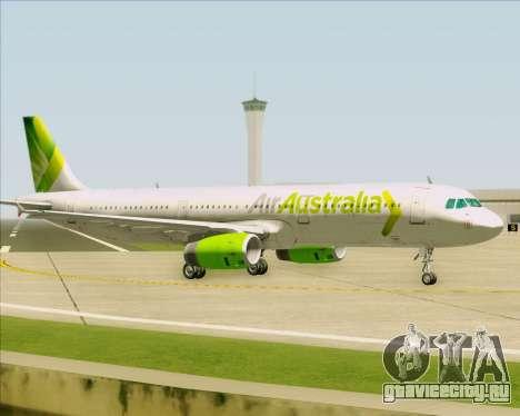 Airbus A321-200 Air Australia для GTA San Andreas вид сзади