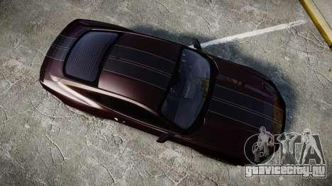 Ford Mustang GT для GTA 4 вид справа
