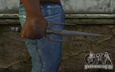 Knife from Deadpool для GTA San Andreas третий скриншот