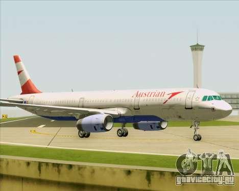 Airbus A321-200 Austrian Airlines для GTA San Andreas вид сбоку