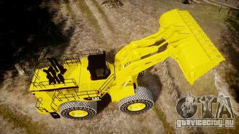 Caterpillar 994F для GTA 4 вид справа