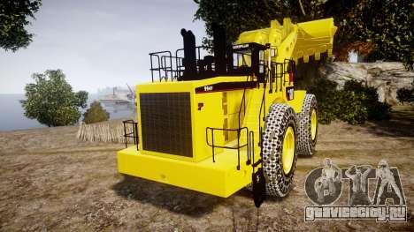 Caterpillar 994F для GTA 4 вид сзади слева