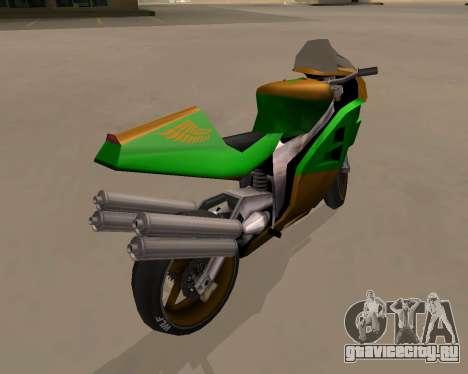 NRG-500 Winged Edition V.1 для GTA San Andreas вид справа