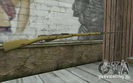 Винтовка Мосина v15 для GTA San Andreas второй скриншот