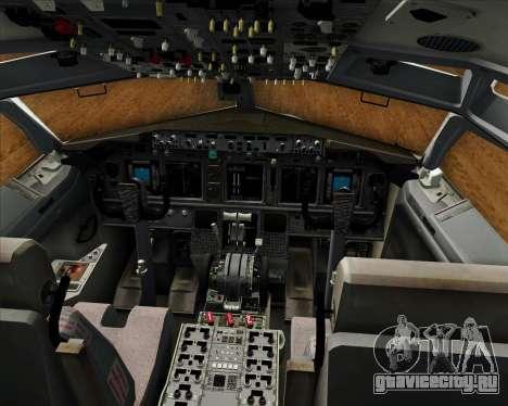 Boeing 737-800 EG&G - Janet для GTA San Andreas салон