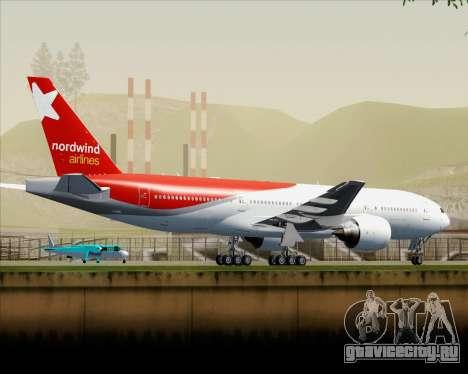 Boeing 777-21BER Nordwind Airlines для GTA San Andreas салон