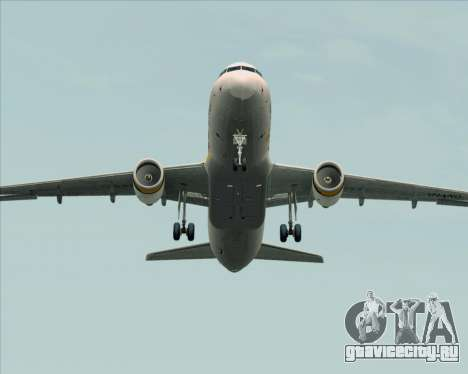 Airbus A320-200 Tigerair Australia для GTA San Andreas вид сверху