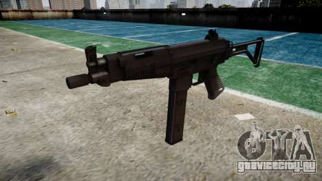 Пистолет-пулемет Taurus MT-40 buttstock2 icon4 для GTA 4