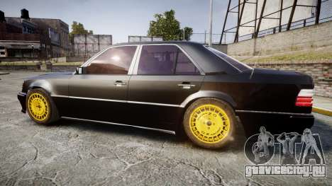 Mercedes-Benz E500 1998 Tuned Wheel Gold для GTA 4 вид слева