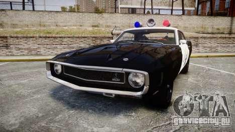 Shelby GT500 428CJ CobraJet 1969 Police для GTA 4