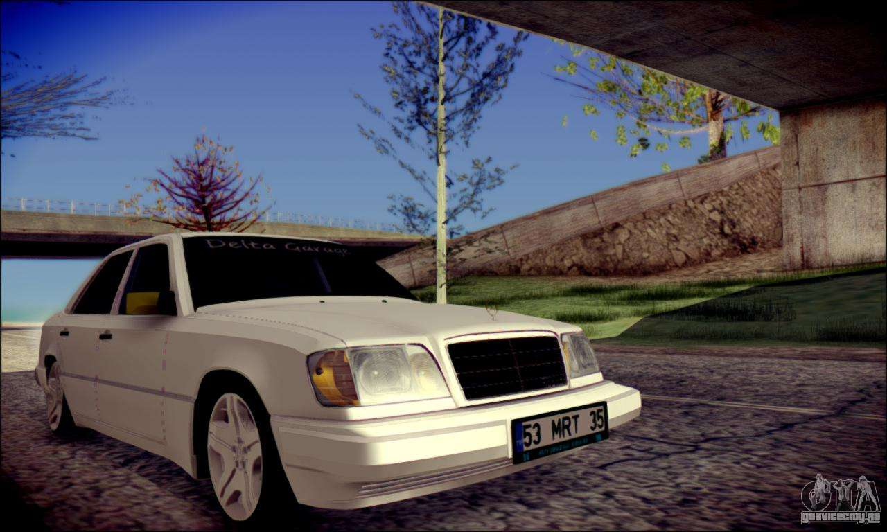 mercedes benz e320 delta garage gta san andreas. Black Bedroom Furniture Sets. Home Design Ideas