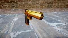 Пистолет IMI Desert Eagle Mk XIX Gold