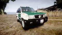 Toyota Land Cruiser Guardia Civil Cops [ELS] для GTA 4