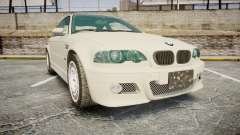 BMW M3 E46 2001 Tuned Wheel White для GTA 4
