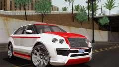 Huntley S для GTA San Andreas