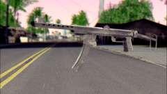Пистолет-Пулемет Судаева для GTA San Andreas