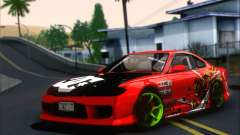 Nissan Silvia S15 Team Drift Monkey