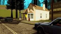 Новый дом CJ в Angel Pine