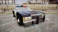 Ford LTD Crown Victoria 1987 Police CHP1 [ELS] для GTA 4