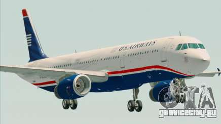 Airbus A321-200 US Airways для GTA San Andreas