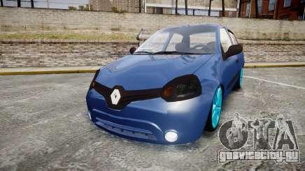 Renault Clio Mio 2014 для GTA 4