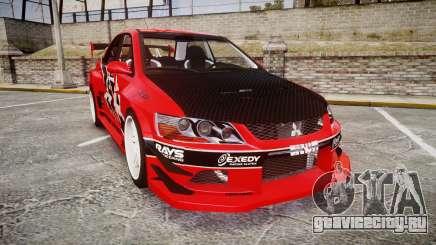 Mitsubishi Lancer Evolution IX Fast and Furious для GTA 4