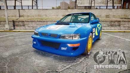 Subaru Impreza WRC 1998 World Rally v3.0 Green для GTA 4