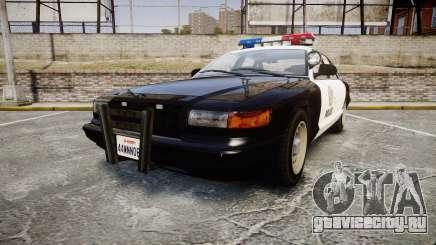 Vapid Police Cruiser MX7000 для GTA 4