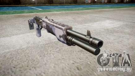 Ружьё Franchi SPAS-12 Blue Tiger для GTA 4